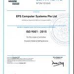 ISO 9001 2015 (EPS CS)